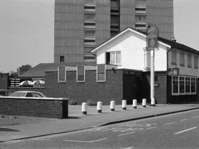 Army & Navy London E13 taken in July 1987.
