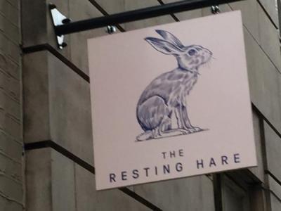 Resting Hare - London